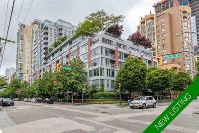 Yaletown Apartment/Condo for sale:  2 bedroom 1,002 sq.ft. (Listed 2020-06-15)